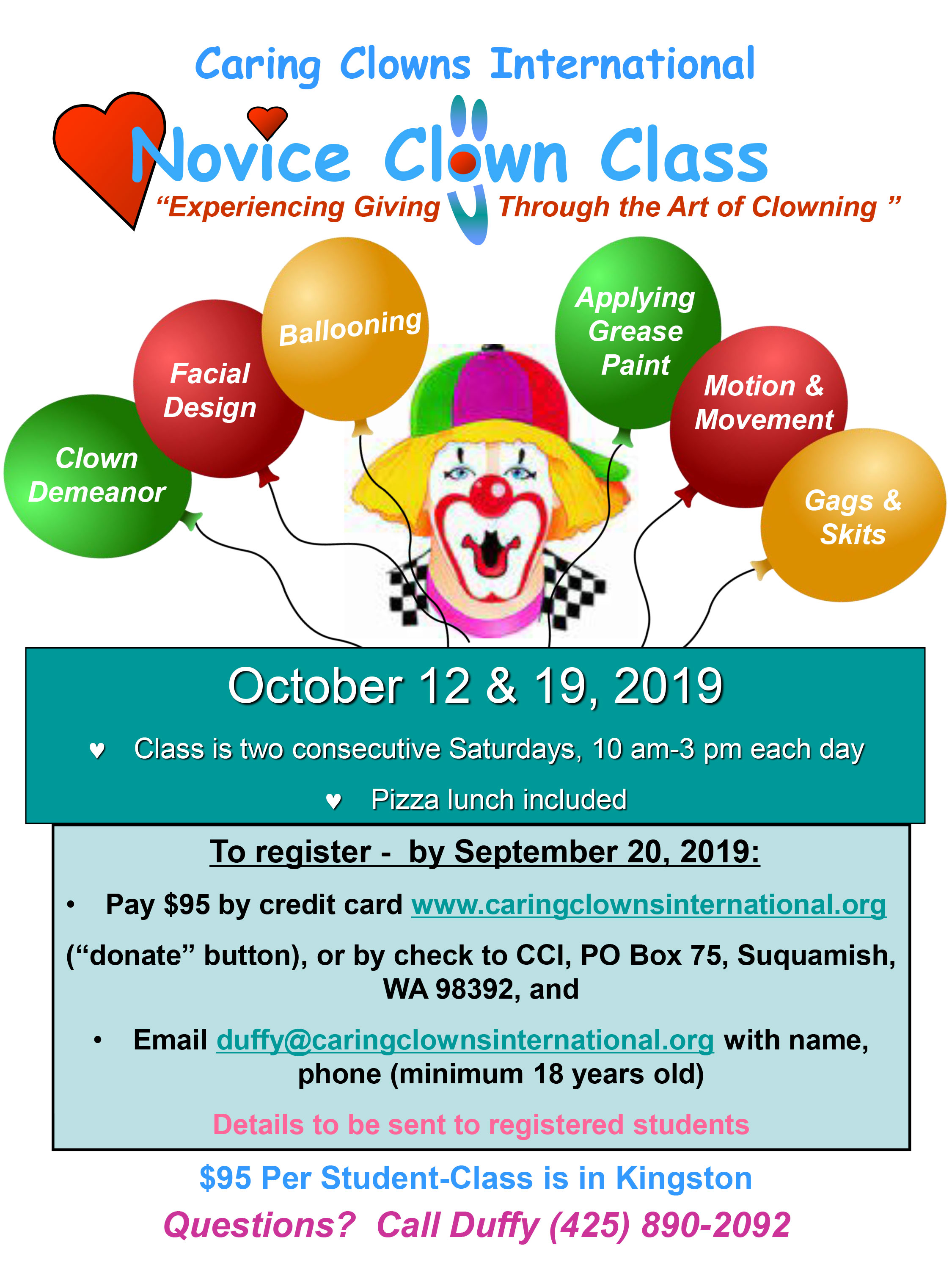 ClownClass-Fall2019-Flyer
